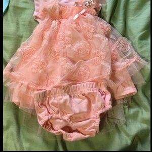 0-3 month dress